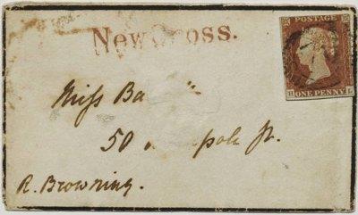 Barrett Browning love letters
