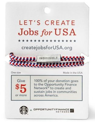 Bracelets create jobs Starbucks-graphic