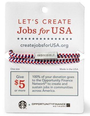 Bracelets create jobs Starbucks-graphic