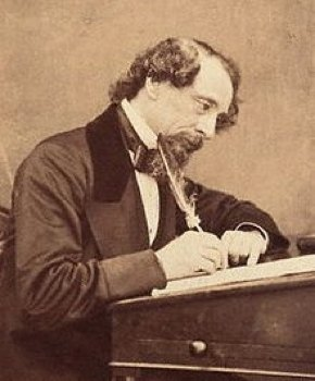 Charles Dickens photo, 1858
