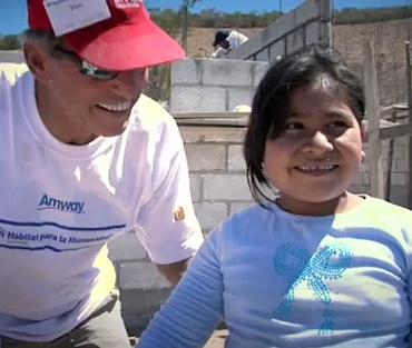 Guatamala child gets home from Habitat-Amwayvideo