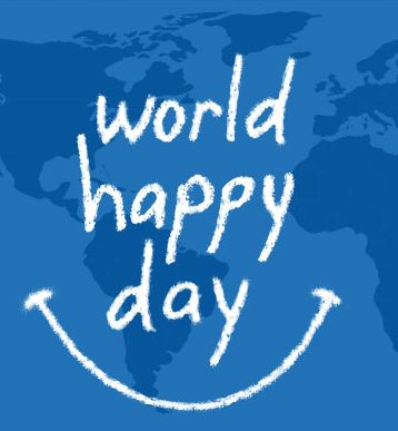 World Happy Day poster