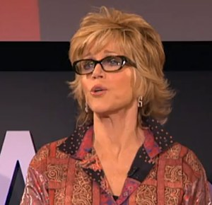 "Jane Fonda gives ""Tedx Talk"" on aging"