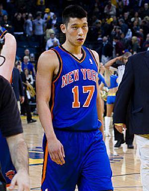 Jeremy Lin with the Knicks -by nikk la -CC