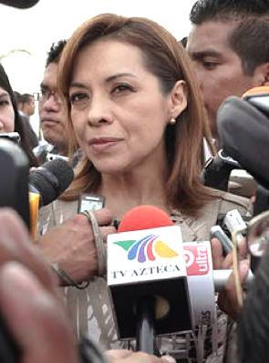 Josefina Vasquez Mota, Mexican candidate for president -by Ads.gm-CC