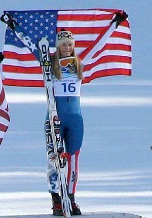 Lindsey Vonn Olympics 2010 -Photo by Eileen-Flickr name, Beachpiks