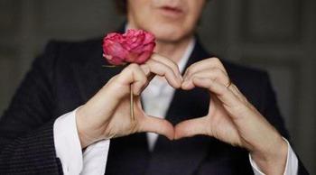 McCartney heart shaped hands