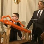 Obama fires marshmellow cannon-WH
