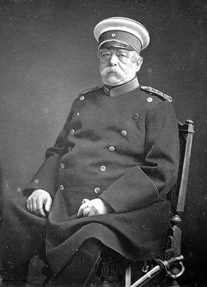 Otto von Bismarck became Chancellor of Germany in 1871
