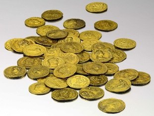 gold coins Sotheby's photo