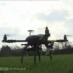 USPCA enlisted Drone w/ camera - BBC video