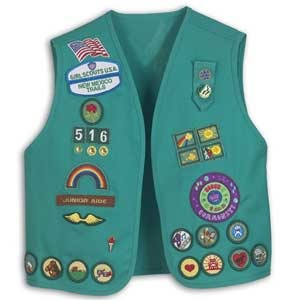 Girl Scouts vest