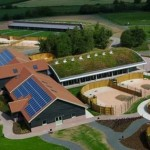Green building, Dogs Trust in Shrewsbury, Britain