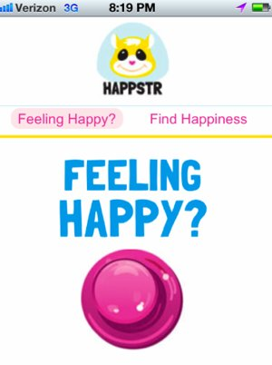 Happstr app tracks happiness