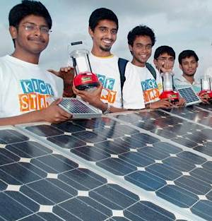 India Engineering students - E Cell initiative