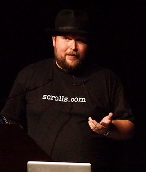 Minecraft CEO Markus Persson at GDConference 2011-CC