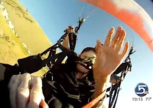 Paragliding grandma News 5 video