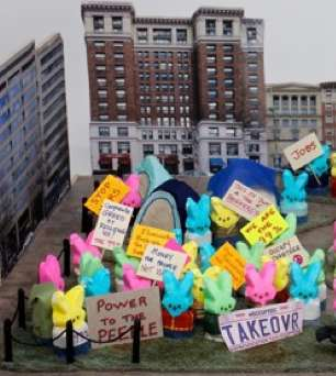 "Peep contest winner 2012 ""OccuPeep DC"" -WashPost photo"
