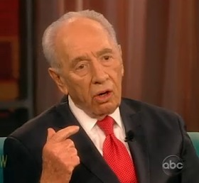 Shimon Peres on The View - ABC video