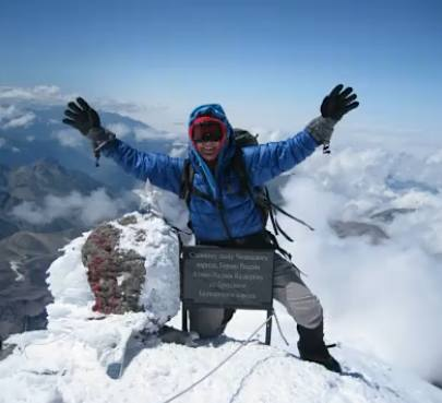 mountain climber is oldest woman to scale 7 peaks