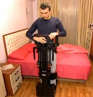 parapelegic device is Segway-like