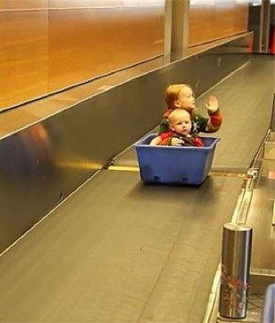 Airline Kids Kargo-AirWest-Joke