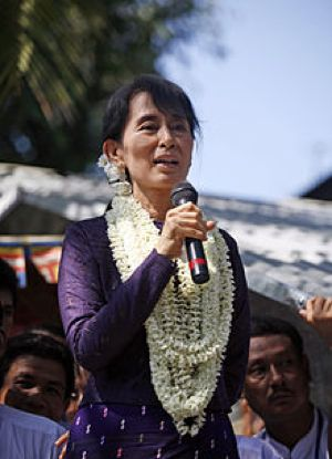 Aung San Suu Kyi - CC photo by Htoo Tay Zar