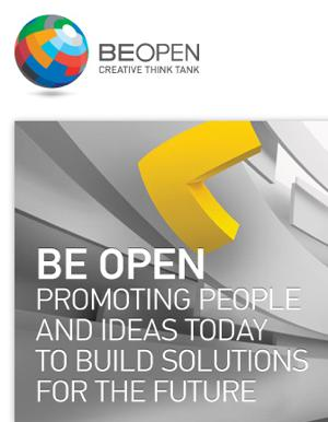 Be Open website logo