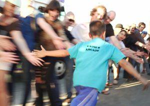 Caines Arcade film flashmob