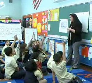 Classroom in Hawn Foundation's MindUp Program teaches mindfulness