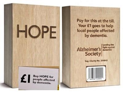 Hope blocks for charity in Bludgens