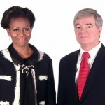 Michelle Obama with NCAA president - WH video