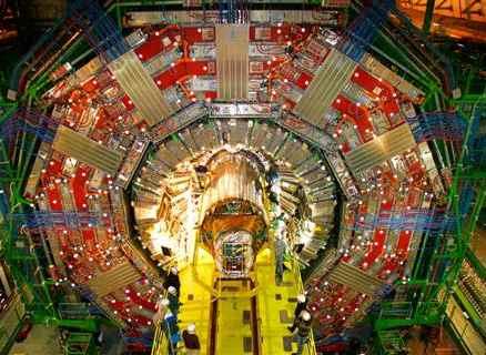 Super collider CERN photo
