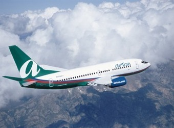 AirTran airplane