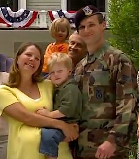 military family in WH Video
