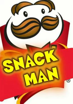 snack man graphic