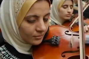 Blind Girls Chamber Orchestra of Egypt-Al Arabiya Youtube