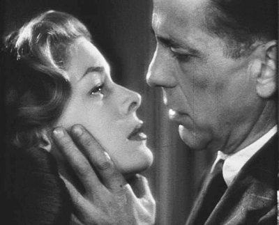 Bogart and Bacall in Dark Passage, one of 4 films in which they co-starred