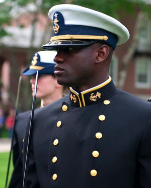Orlando, as a Coast Guard Academy Graduate