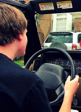 Driving teen - Photo by TaylorSchlades via Morguefile