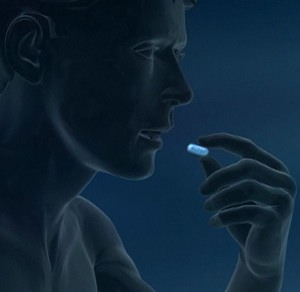 Pill-taking Truvada