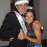 Prom King Scotty Shavers w Katie Buell-familyphoto