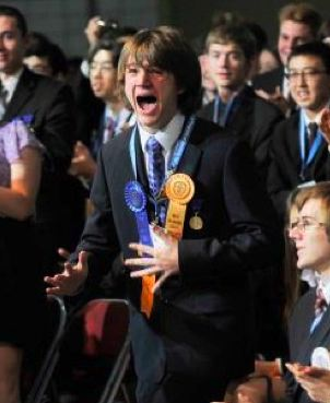 Science award winner, Jack Andraka wins Intel 2012 Science Fair