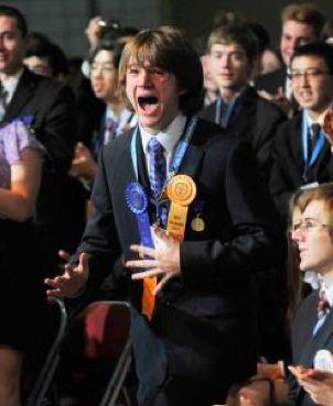 Science award winner, Jack Andraka wins Intel 2012 Science Fair