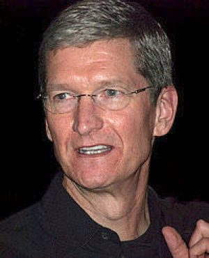 Tim Cook Apple CEO - Wikipedia -CC
