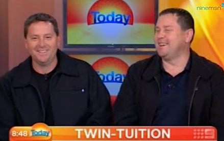 Twin Tuition helps find brain tumor- Today show video
