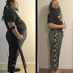 Yoga before-and-after disabled vet