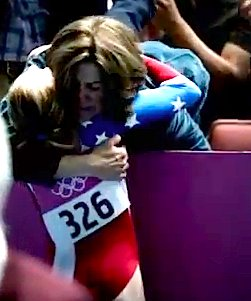 Olympic moms honored on YouTube