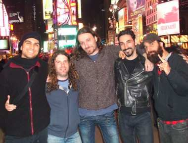 rockers in NYC-Orphaned Land band-FBphoto