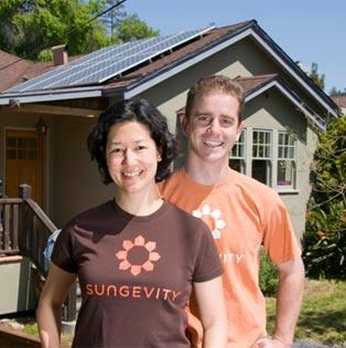 Sungevity solar home customers